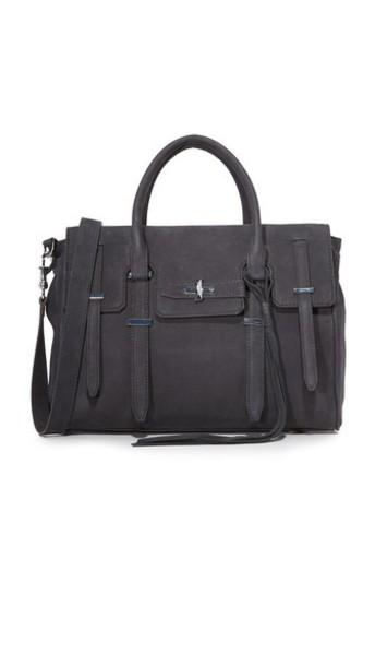 Rebecca Minkoff satchel zip new grey bag