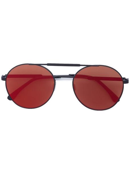 Vera Wang women plastic sunglasses red