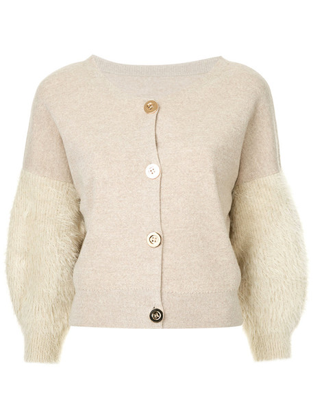 Cityshop cardigan cardigan women nude wool sweater
