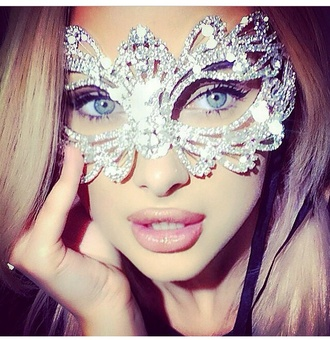 jewels mask sexy halloween accessory masquerade rhinestones prom