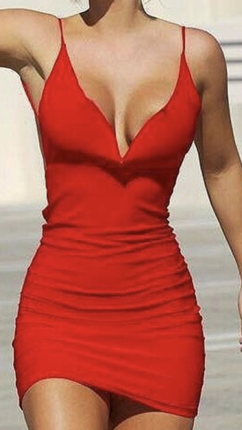 31ea90ffd528 dress red dress short sexy red bodycon bodycon dress party dress sexy party  dresses sexy dress