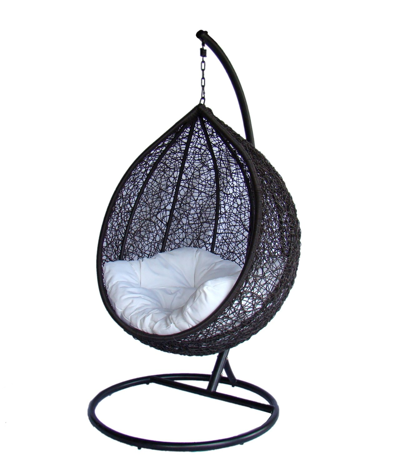 hanging swing pin rattan furniture chair double garden and hammock