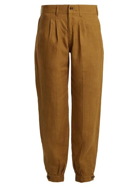 CHUFY dark tan pants