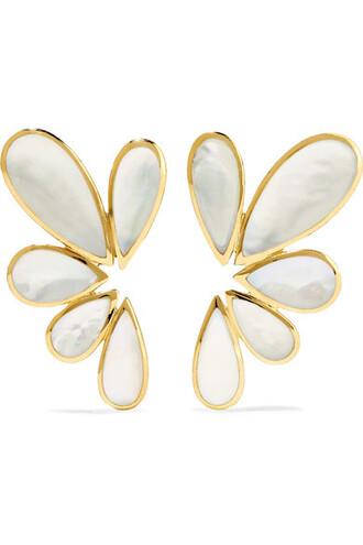rock candy earrings gold jewels