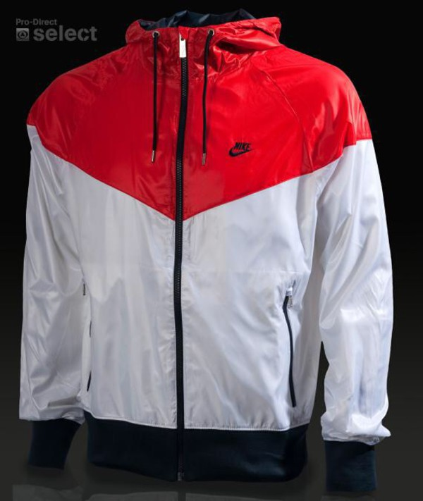huge selection of 3528a 2d7c4 jacket red and white nike nike windrunner nike windrunner jacket