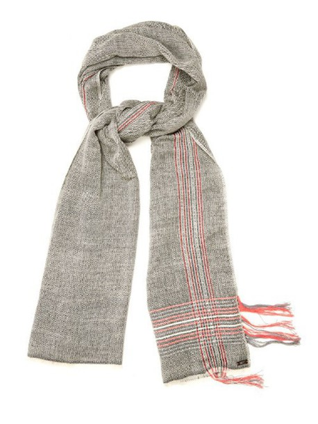 MELT scarf cotton wool grey