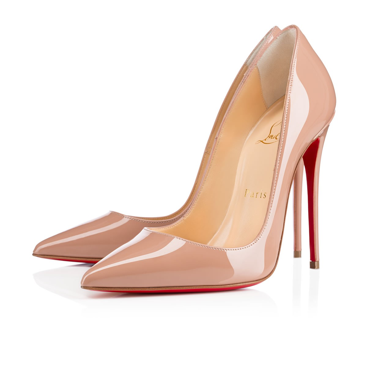 812defb16ab SO KATE PATENT 120 Nude Patent calfskin - Women Shoes - Christian Louboutin