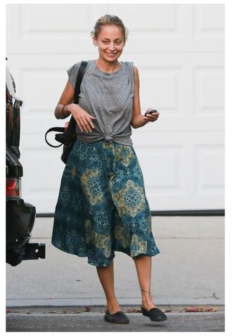 skirt midi skirt top nicole richie summer outfits
