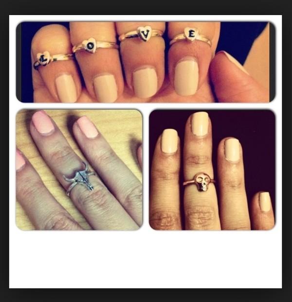 jewels love midi rings