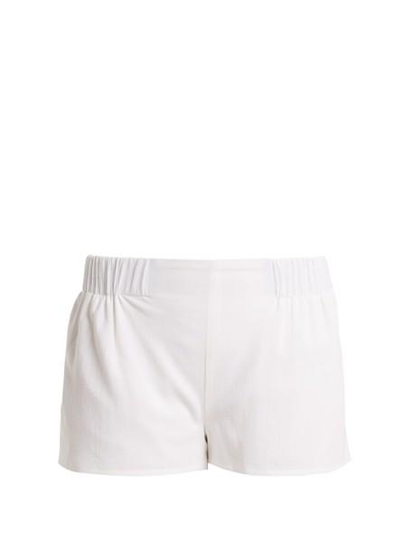 CASA NATA shorts cotton white