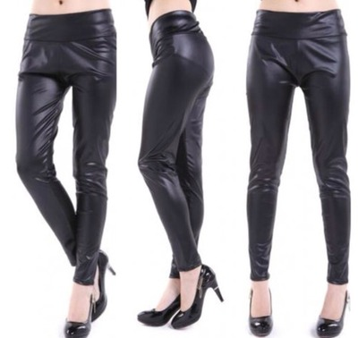 High waisted leather legging  · doublelw · online store powered by storenvy