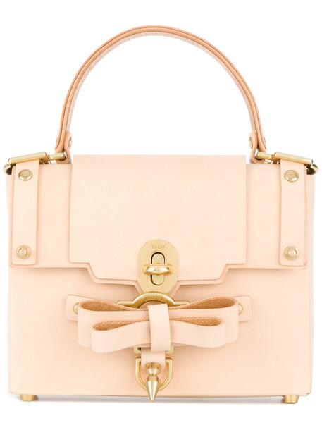 NIELS PEERAER satchel women backpack leather nude bag