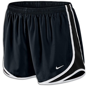 Nike Tempo Shorts - Women's - Running - Clothing - Black/White