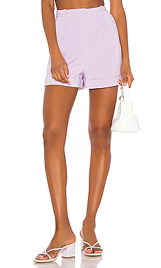 Song of Style Lou Short in Lilac Purple from Revolve.com