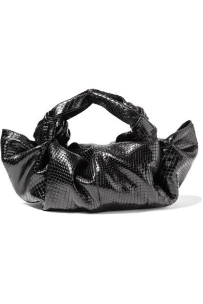 The Row python black bag