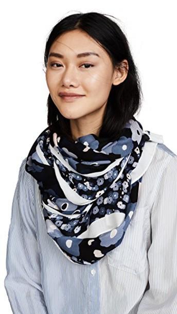 Kate Spade New York scarf navy
