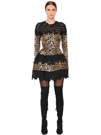 dress lace dress lace black brown