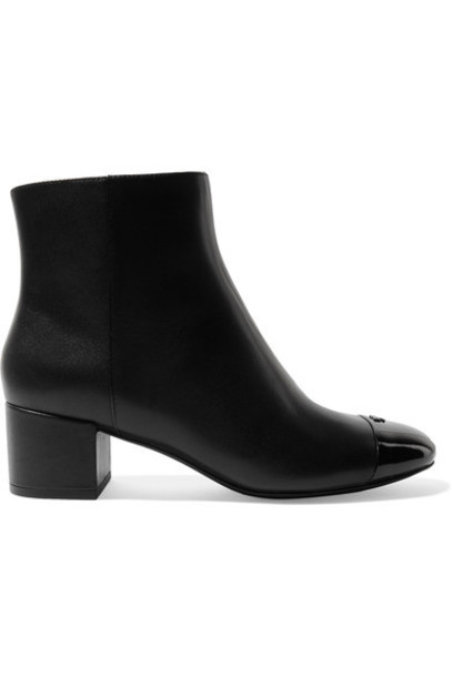 Tory Burch leather ankle boots ankle boots leather black shoes