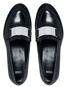ASOS | ASOS MODERN Leather Loafers at ASOS
