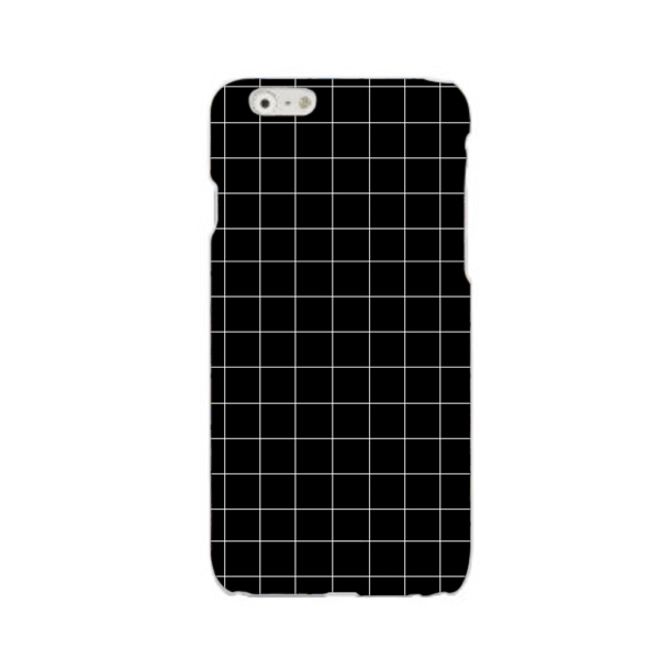 Black Grid Phone Case