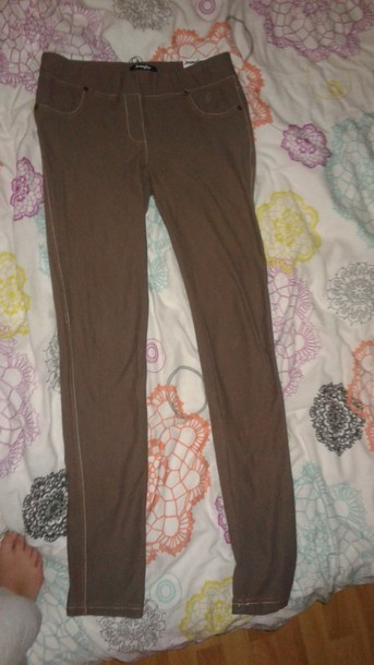 pants marron
