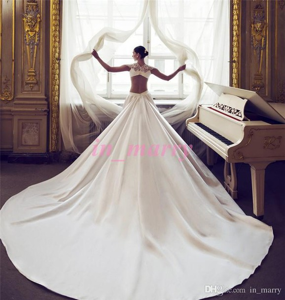 Dress nurit hen wedding dresses long satin wedding dresses dress nurit hen wedding dresses long satin wedding dresses 2016 wedding dresses high neck wedding junglespirit Image collections