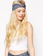 ASOS Vintage Floral Lace Hair Turban at asos.com