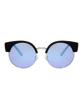 ASOS | ASOS Half Kitten Cat Eye Sunglasses at ASOS