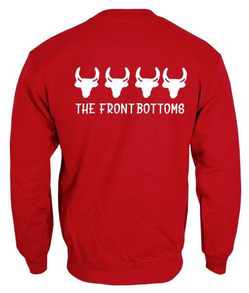 the front bottoms sweatshirt back