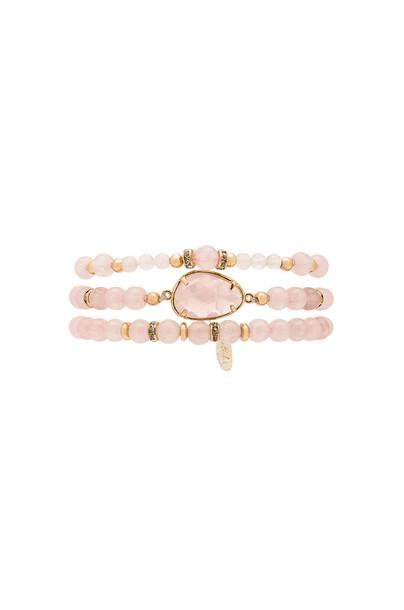 Ettika beaded bracelet beaded pink jewels