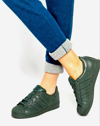 shoes grey dark khaki green olive green adidas adidas shoes adidas superstars adidas originals grey sneakers olive green running shoes army green tumblr instagram pinterest bold cute beautiful pretty gorgeous sneakers