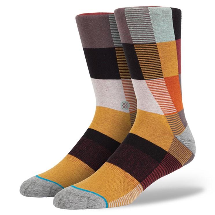 Stance | Pixel Brown, Multi socks | Buy at the Official website Main Website.