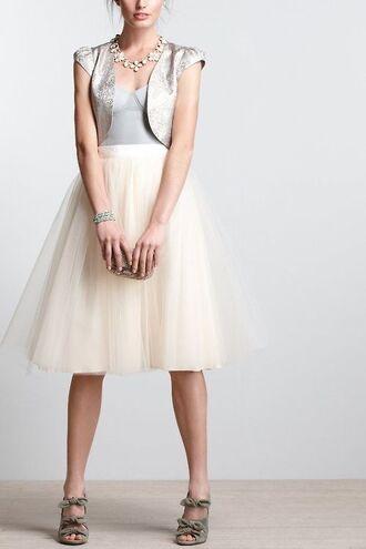 skirt tulle skirt white ballerina tutu