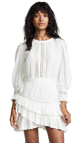LOVESHACKFANCY Lorelei Dress in ivory