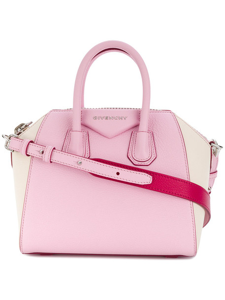 Givenchy mini women leather purple pink bag