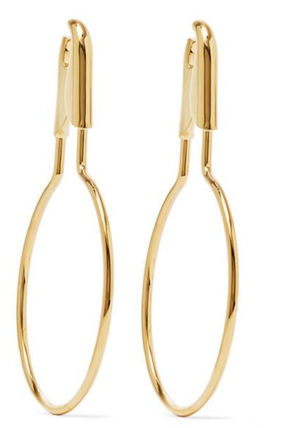 Balenciaga - Gold-plated Earrings