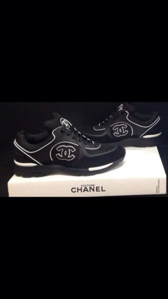 shoes chanel trainers