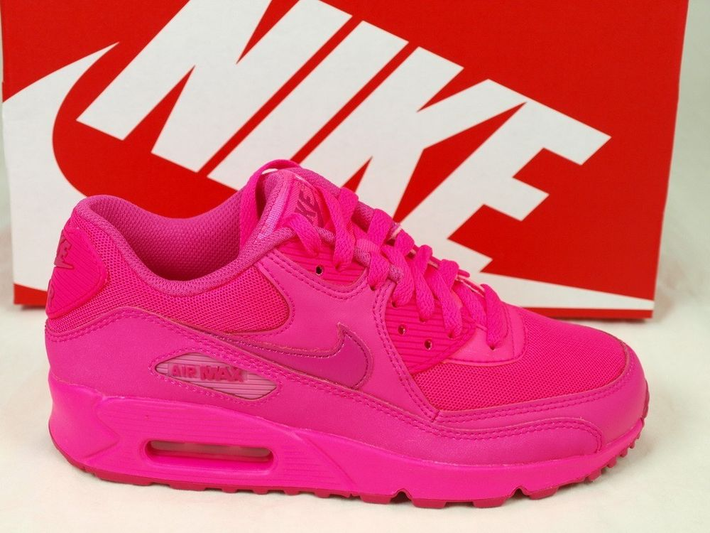 Nike Air Max 90 GS 2007 Hyper Pink Vivid ATMOS Youth Running 345017-601