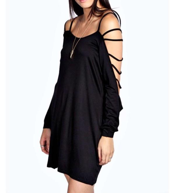 dress black summer dress girly lovely pepa fashion