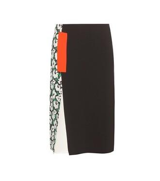 skirt patchwork black