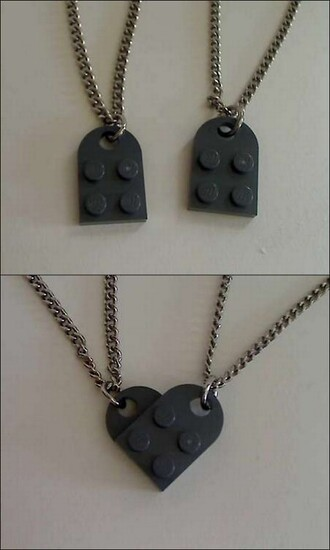 necklace gray sunglasses jewels lego
