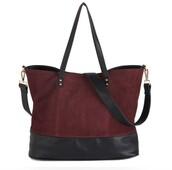 bag,tote bag,burgundy,black bag,faux leather,fashion,beautiful bags,long strap bag,big bag