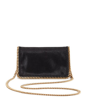 Stella McCartney Falabella Chain Crossbody Bag, Black