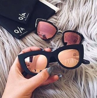 sunglasses black sunglasses gold glasses sunnies accessories accessory summer summer accessories cat eye