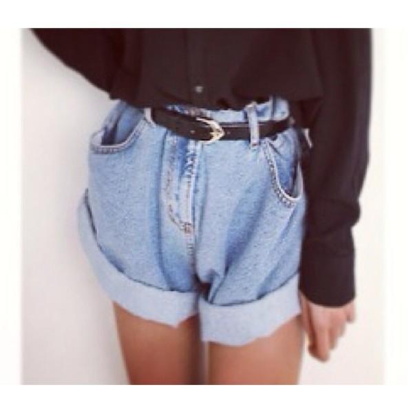 shorts baggy High waisted shorts