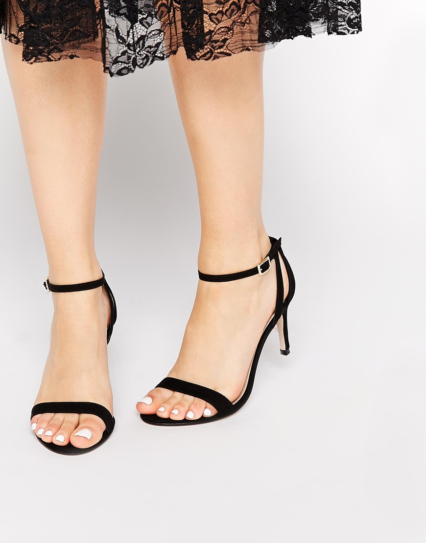 ASOS HEAD LIGHT Heeled Sandals at asos.com