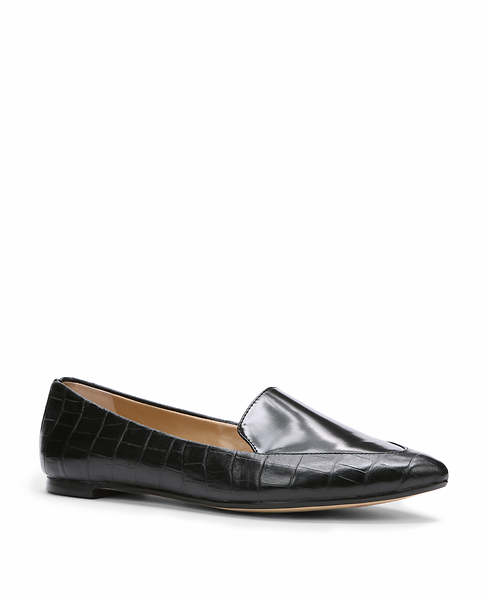 Ali Exotic Embossed Leather Loafers