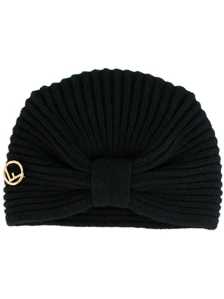 bow hat black