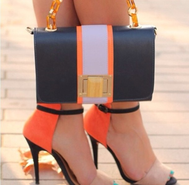 shoes cute high heels high heels bag