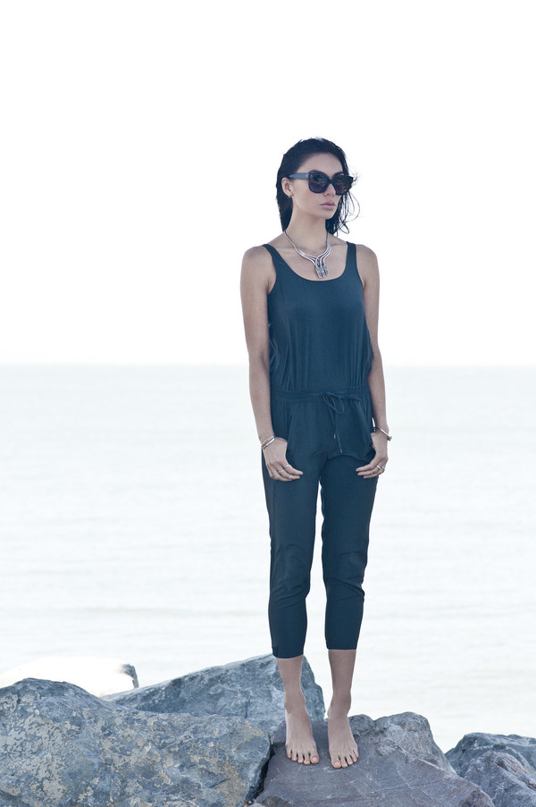 say hello max jumpsuit shoes jewels sunglasses